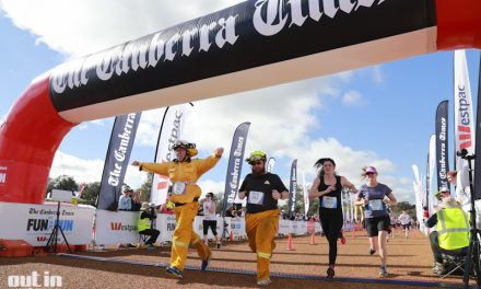 The Canberra Times Fun Run at King George Terrace