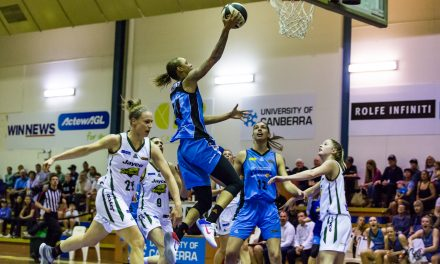 UNIVERSITY OF CANBERRA CAPITALS VS BENDIGO SPIRIT