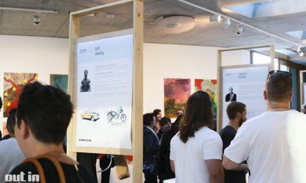 Tom Skeehan Sketching Process Book Launch at Nishi Gallery