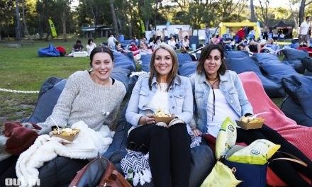 Sunset Cinema 'Accountant' at Australian National Botanic Gardens