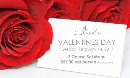 Valentine's Day at Bicicletta