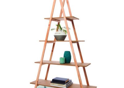 A-Frame Bookshelf - Natural $49