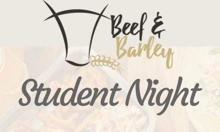 Student Night and Beef & Barley