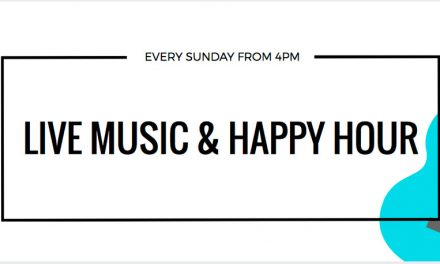 Live music & happy hour