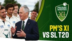 Prime Minister's XI v Sri Lanka – T20