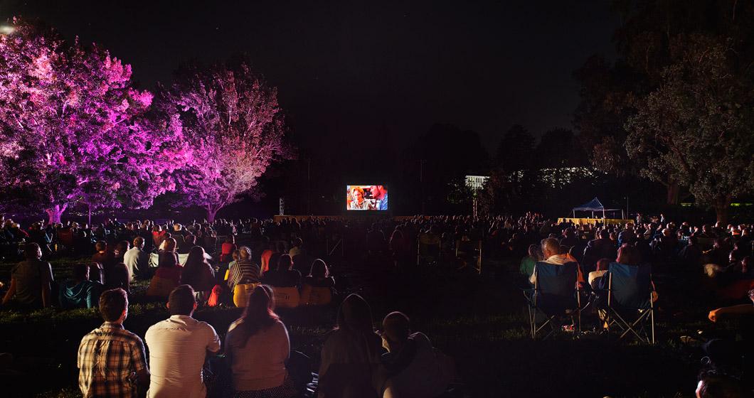 Lights! Canberra! Action! at Enlighten 2017