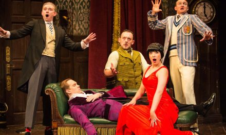 Win a double pass to The Play That Goes Wrong at Canberra Theatre