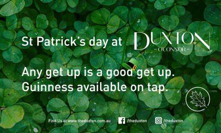 St Patricks Day at Duxton