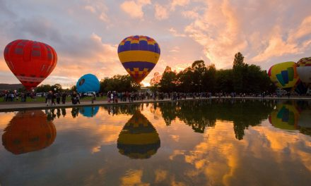 Rise and dine for this year's Canberra Balloon Spectacular