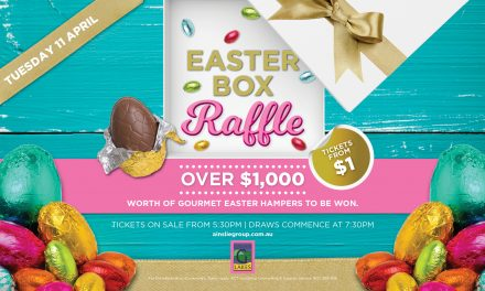 Easter Box Raffle: Gungahlin Lakes Club