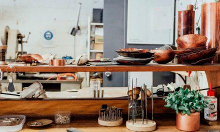 A peek inside… Alison Jackson's silversmith workshop