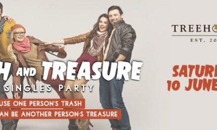 Trash & Treasure Singles Party at Treehouse