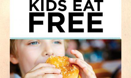 Monday: Kids Eat Free @ The Lakes