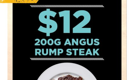 $12 Rump Steak @ The Lakes