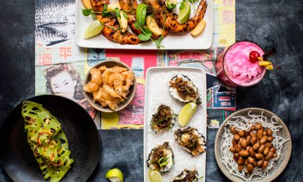 An explosion of colour and flavour at the new and improved Natural Nine