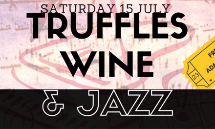 Truffles, wine & jazz at Mercure