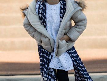 A fashionista at four!