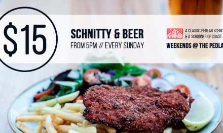 $15 Schnitty and Beer at The Pedlar