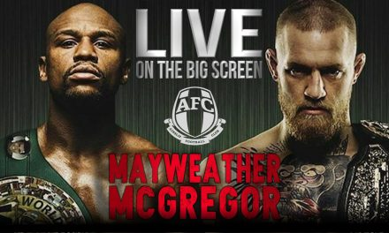 Mayweather V Mcgregor : Live on the Big Screen at Ainslie