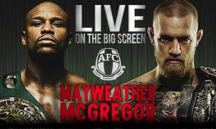 Mayweather V Mcgregor : Live on the Big Screen at Ainslie