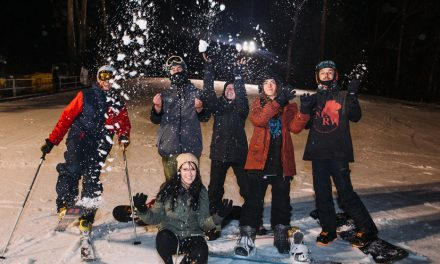 Ski and ride under the stars at Corin Forest