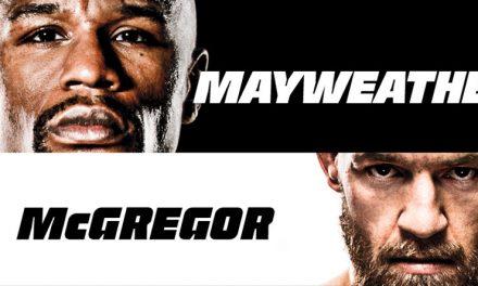 Mayweather v McGregor at Ducks Nuts