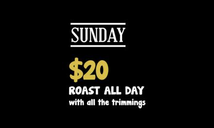 Sunday roast at Ducks Nuts