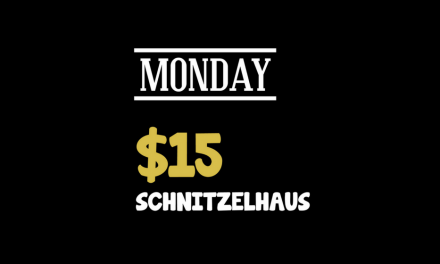 Monday $15 Schnitzelhaus at Ducks Nuts