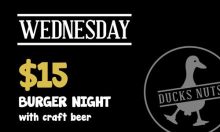 Wednesday $15 Burger and Beer Night