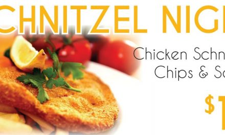 $14 Schnitzel Night at The Lakes