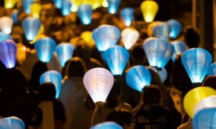 Canberra Light the Night at Kingston Foreshore