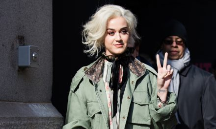 Katy Perry at NYC Fashion Week