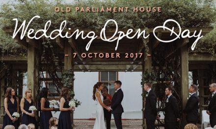 Old Parliament House Wedding Open Day