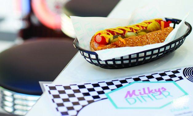 Milkys Diner Chicago Dog