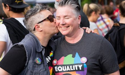 One year after yes vote, Canberra gathers to celebrate equality.