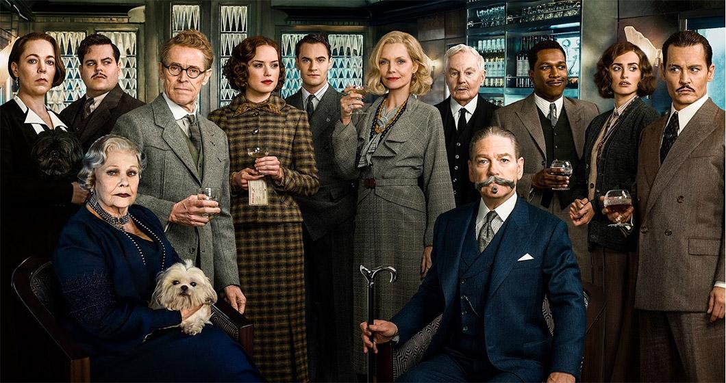 Ensemble cast with a murderer amongst them