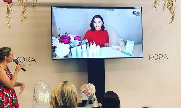 Miranda Kerr's surpising Skype masterclass