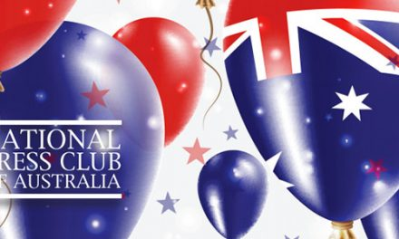 Australia Day Eve Party at National Press Club