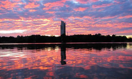 Lake Burley Griffin by Paul Jurak