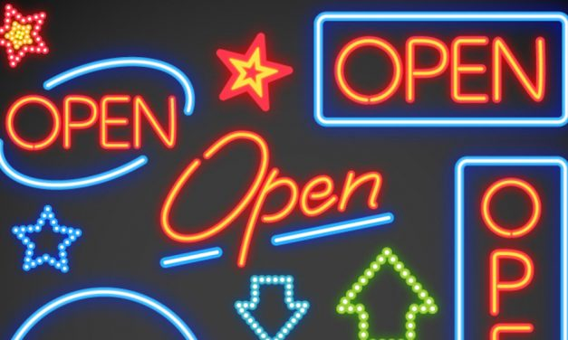 Open signs