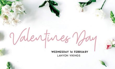 Valentine's Day Dinner at Lanyon Vikings