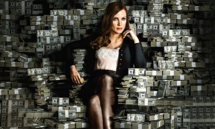 Jessica Chastain's rich role in Molly's Game