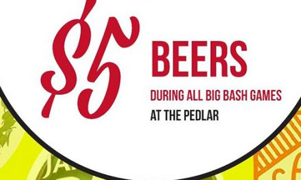 The Pedlar $5 beer for Big Bash