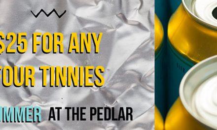 The Pedlar – Tin of Tinnies