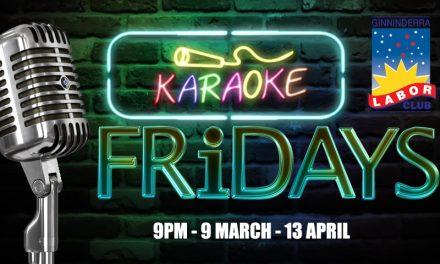 Karaoke Fridays at Ginninderra Labor Club