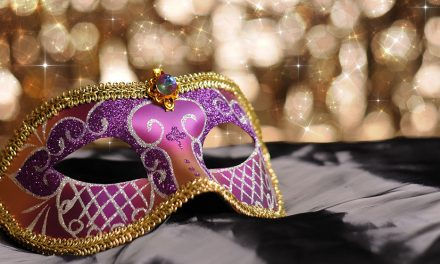 Martinis and masks at exclusive Canberra party