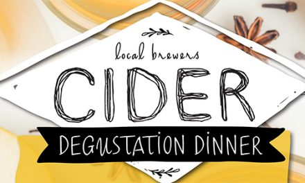 Cider Degustation Dinner at The National Press Club