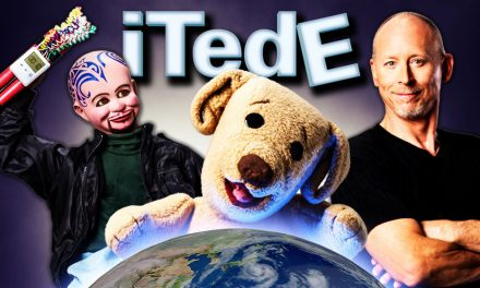 """WIN a double pass to Strassman's """"iTedE"""" Show at The Playhouse"""