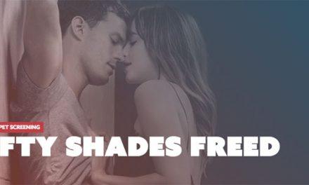 Fifty Shades Freed Red Carpet Screening at Dendy Cinemas