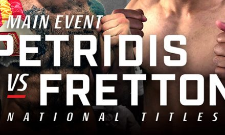 Petridis VS Fretton Fight Night